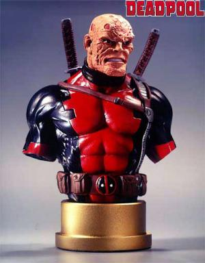 Bowen Designs Deadpool Mini Bust unmasked