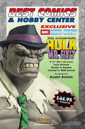 Bowen Designs Mr Fixit Mini Bust