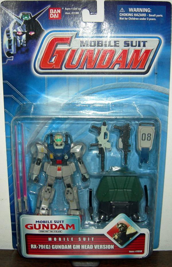 RX-79G Gundam GM Head Version Mobile Suit action figure