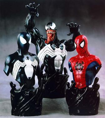 Bowen Designs Venom Triple Pack Mini Busts
