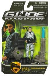 Abel Breaker Shaz Rise Cobra action figure