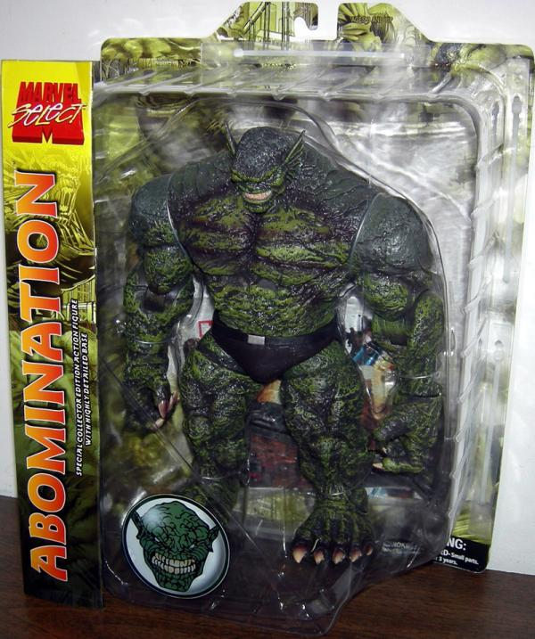 Abomination Figure Marvel Select Detailed Base Diamond