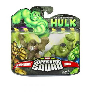 Abomination vs Hulk Super Hero Squad action figures