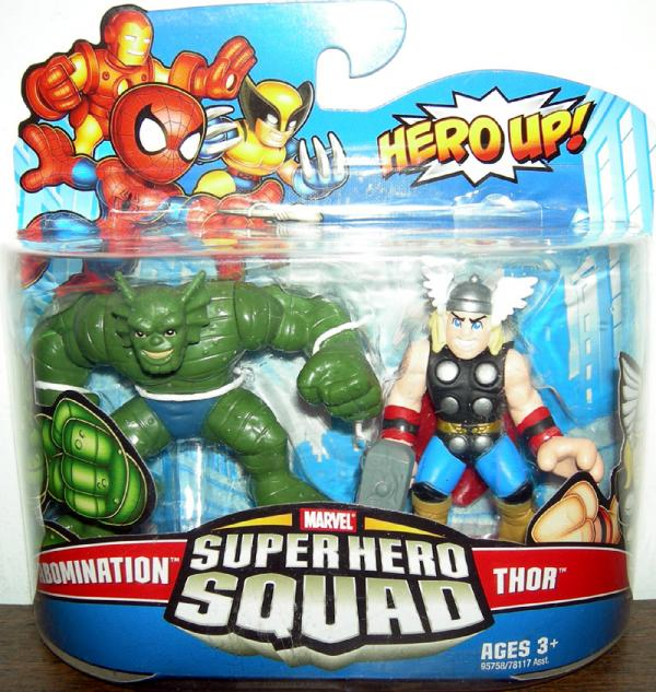 Abomination Thor Super Hero Squad action figures