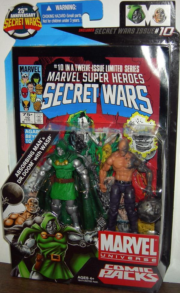 Absorbing Man Dr Doom Wasp, Marvel Universe