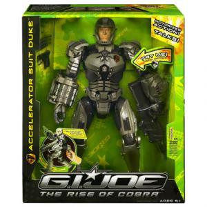 Accelerator Suit Duke, Rise Cobra action figure