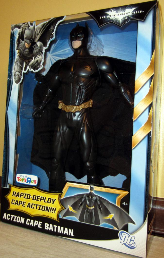 Dark Knight Rises Action Cape Batman TRU Exclusive action figure