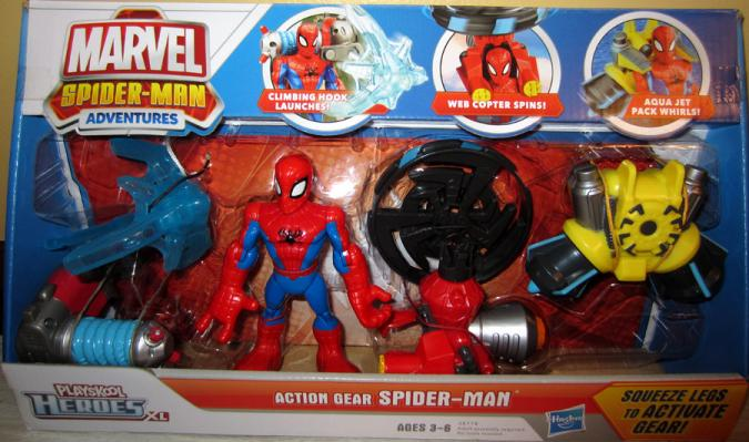 Action Gear Spider-Man, Playskool Heroes