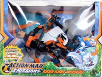 12 inch Action Man Aqua Surf Mission Action Figure Hasbro