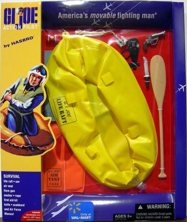 Action Pilot Survival equipment