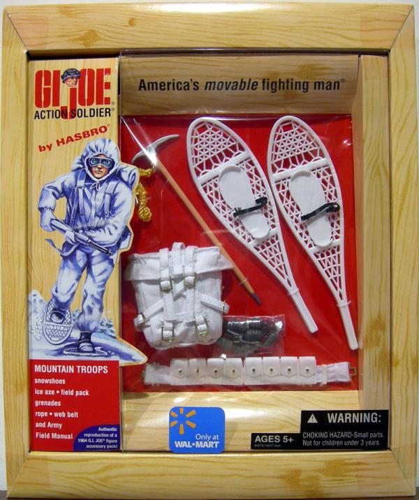 Action Soldier Mountain Troops equipment