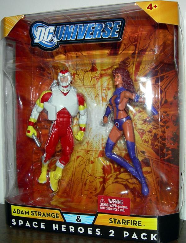 Adam Strange Starfire, DC Universe