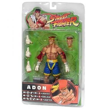 Adon Street Fighter Round 3 blue trunks action figure
