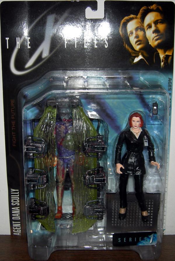 Agent Dana Scully, human host cryopod chamber