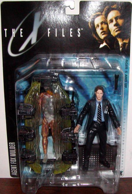 Agent Fox Mulder, human host cryopod chamber
