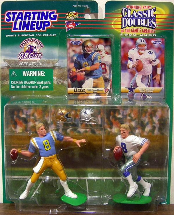 Troy Aikman Classic Doubles Starting Lineup action figures