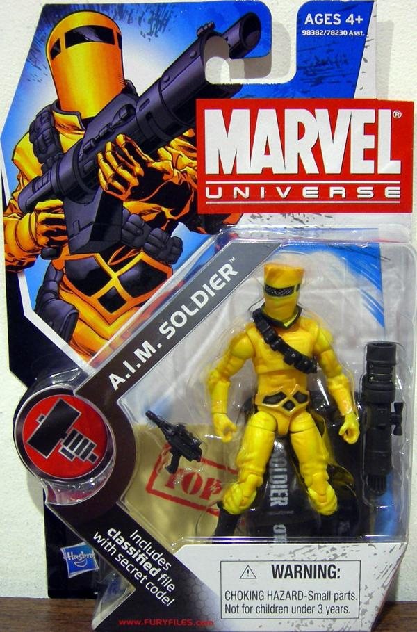 AIM Soldier Figure Marvel Universe Series 2 016 Hasbro