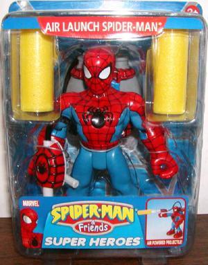 Air Launch Spider-Man