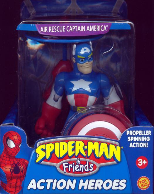 Air Rescue Captain America