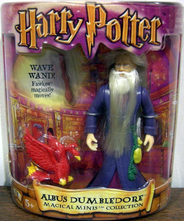 Albus Dumbledore Magical Minis Collection Harry Potter action figure