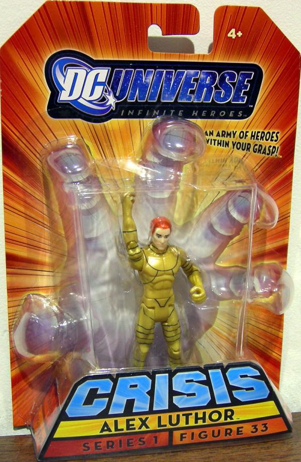 Alex Luthor, Infinite Heroes, figure 33