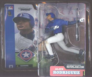 Alex Rodriguez, blue jersey
