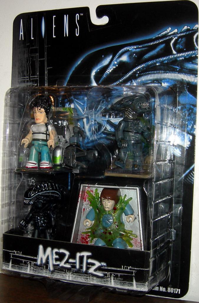 Aliens 4-Pack Figures Mez-Itz Mezco