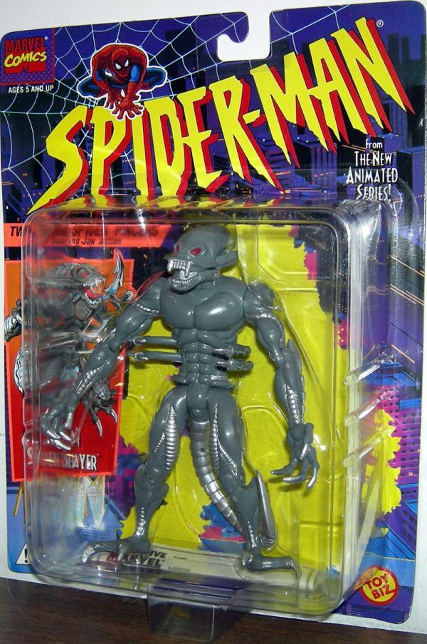 Alien Spider Slayer Figure Spider-Man Animated Toy Biz