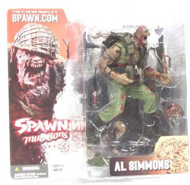 Al Simmons, Mutations, helmet off