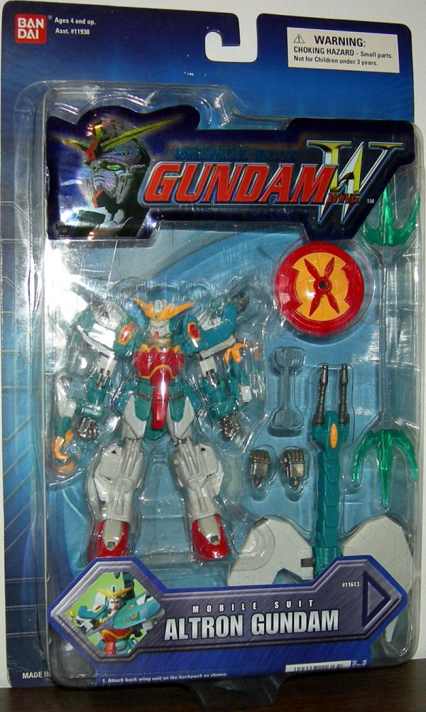Mobile Suit Altron Gundam Wing New Sculpt action figure