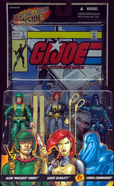 Alvin Breaker Kibbey, Agent Scarlett Cobra Commander 3-Pack