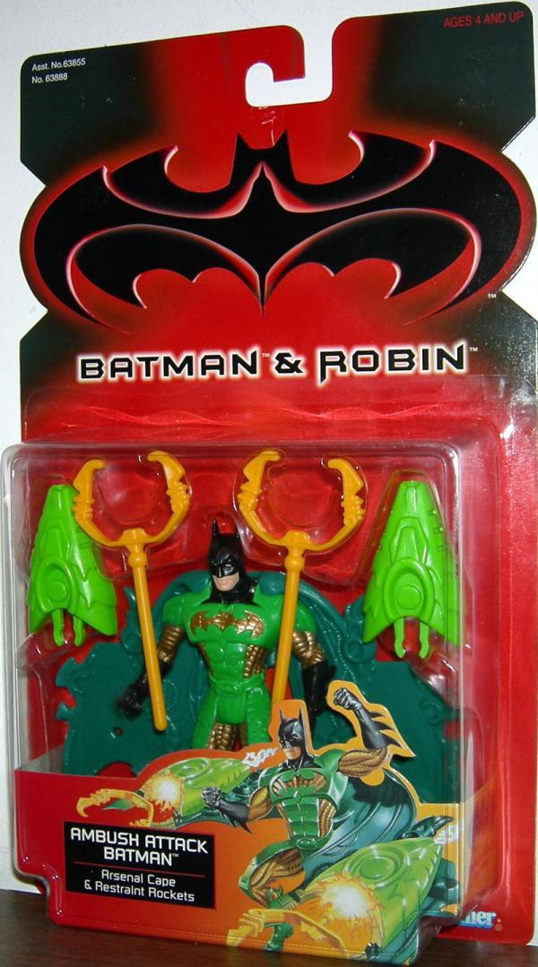 Ambush Attack Batman, Batman Robin action figure