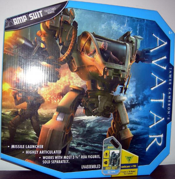 AMP Suit Avatar Collectable Vehicle