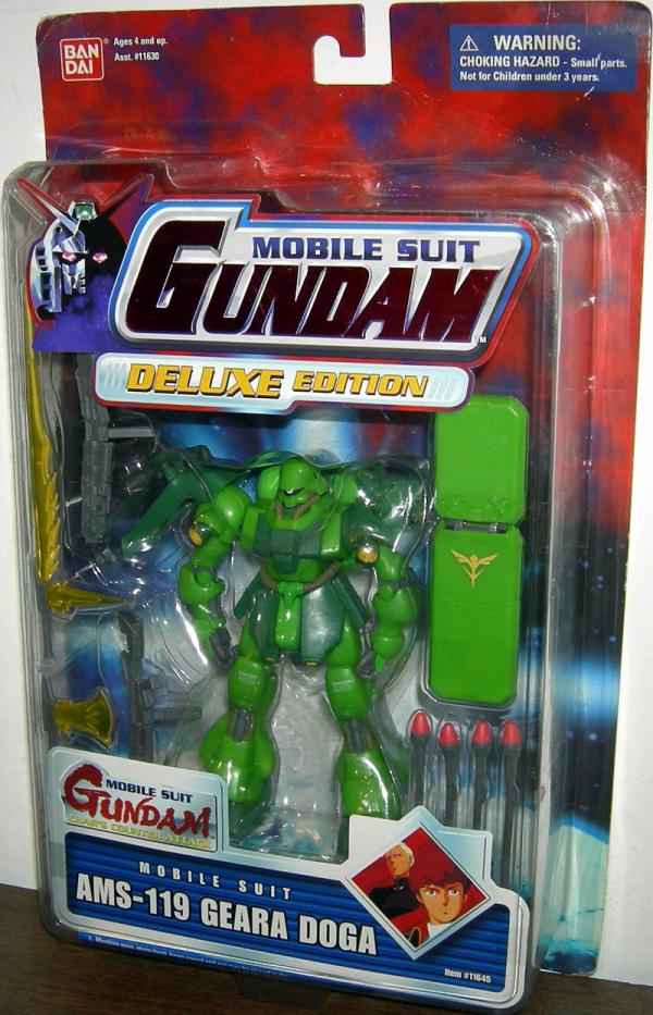AMS-119 Geara Doga Green Mobile Suit Gundam Deluxe action figure