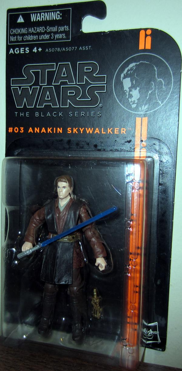 Anakin Skywalker Black Series 03 Star Wars action figure