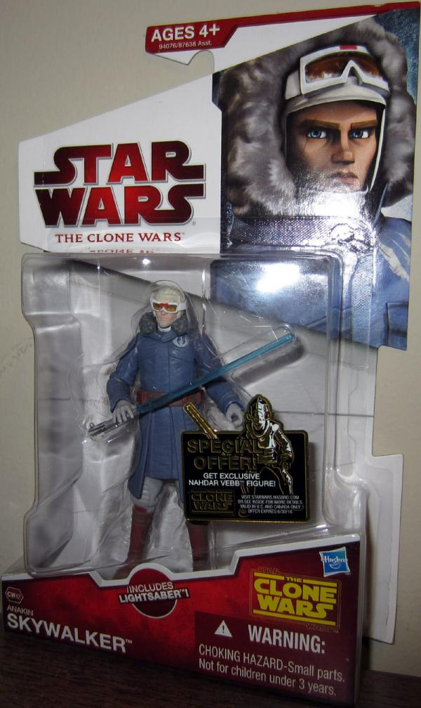 Anakin Skywalker CW42 Action Figure Star Wars Clone Wars