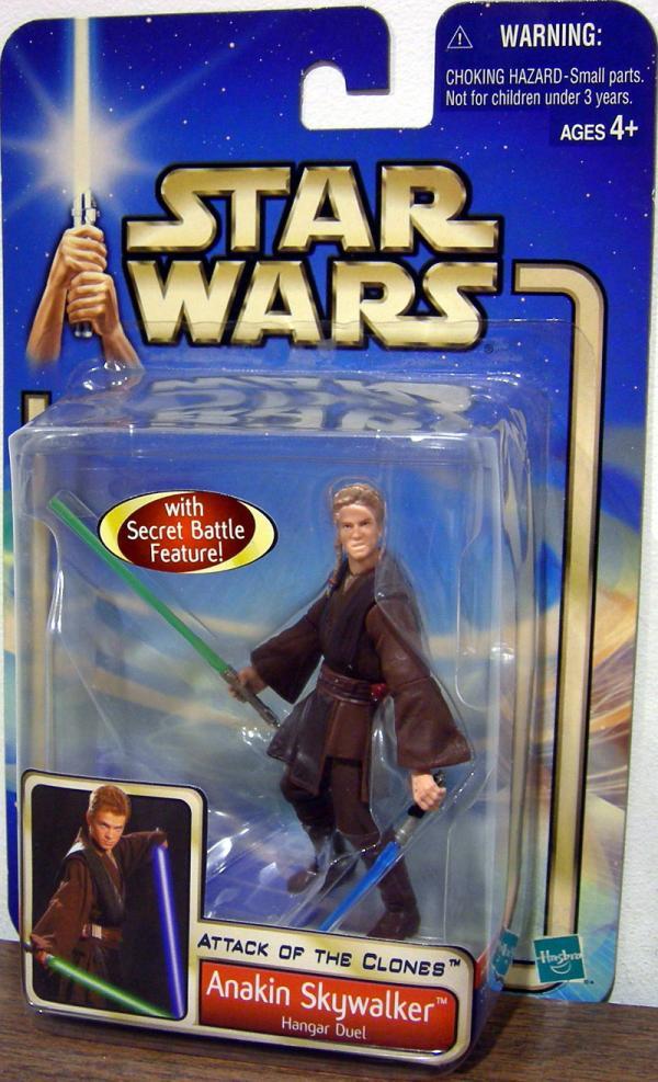 Anakin Skywalker Hangar Duel Star Wars Attack Clones action figure