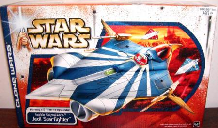 Anakin Skywalkers Jedi Starfighter, Clone Wars