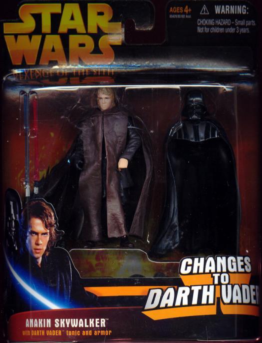 Anakin Skywalker, deluxe, Revenge Sith, accessories hidden