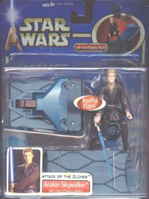 Anakin Skywalker, deluxe force-flipping action