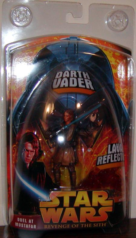 Anakin Skywalker Darth Vader Duel Mustafar Star Wars action figure