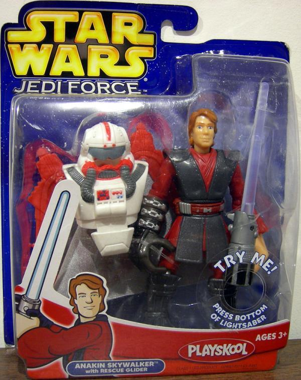 Anakin Skywalker Jedi Force Rescue Glider Star Wars action figure