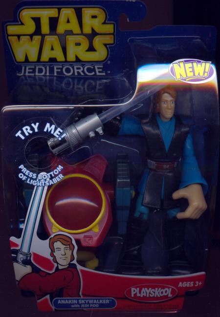 Anakin Skywalker, Jedi Force Jedi Pod