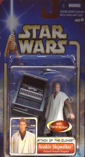 Anakin Skywalker, Outland Peasant Disguise