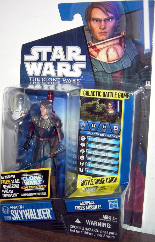 Anakin Skywalker Figure CW07 Star Wars Clone Wars