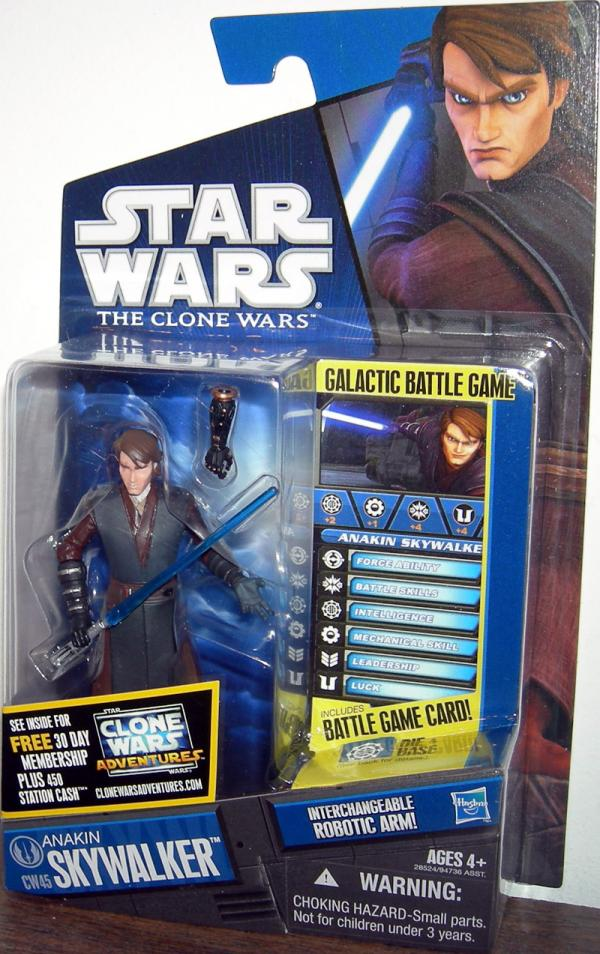 Anakin Skywalker CW45 Action Figure Star Wars Clone Wars
