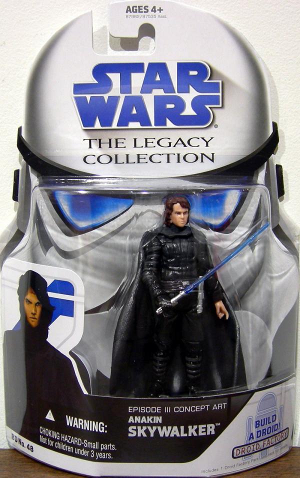 Anakin Skywalker Episode III Concept Art Action Figure BD 48 Star Wars