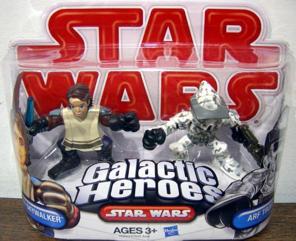 Anakin Skywalker Arf Trooper Galactic Heroes Star Wars action figures