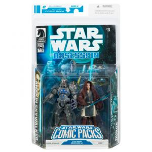 Anakin Skywalker Durge, Comic Packs