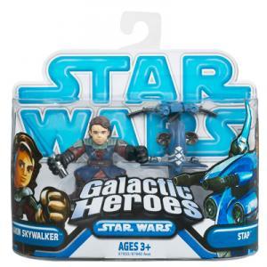 Anakin Skywalker and STAP Action Figures Galactic Heroes Star Wars